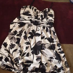 Other - I am selling a black and with floral dress